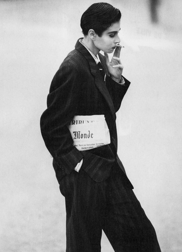 Deborah Klein, l'Officiel, Jardin des Tuileries (Paris) 1983