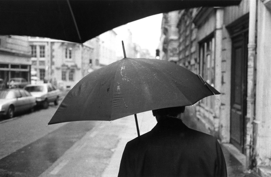 Rue de Vaugirard in the rain, (Paris) June 1983 - Tim Trompeter