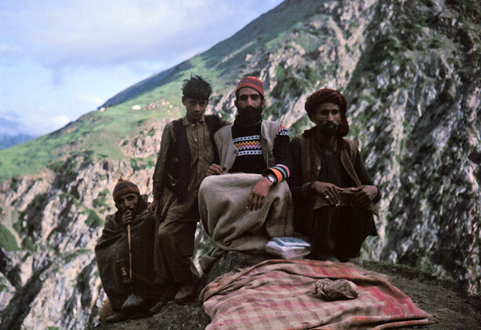 Tea Stall Boss Man - route to Amarnath Cave, Jammu and Kashmir, India 1978 - Tim Trompeter