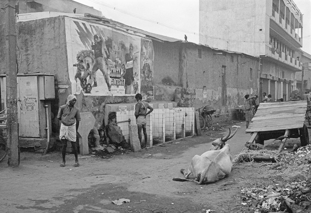Backstreets, Bangalore, India 1991 - Tim Trompeter