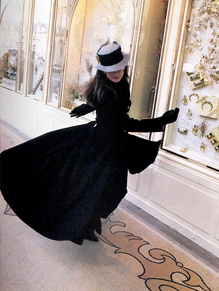Gisele Pauli, Chanel, Rue de Castiglione, Paris 1986 - Tim Trompeter