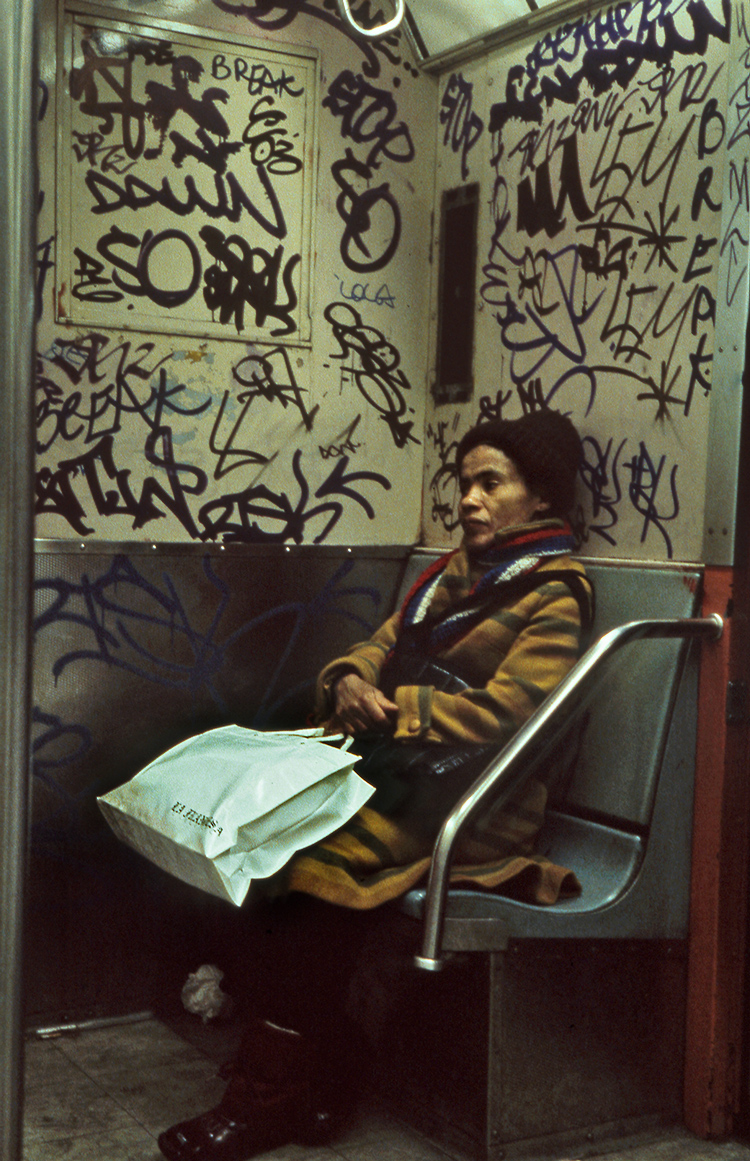 IRT 1 Train, NYC 1982 - Tim Trompeter