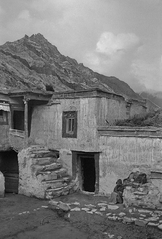 Rangdom Gompa, Ladakh 1978 - Tim Trompeter