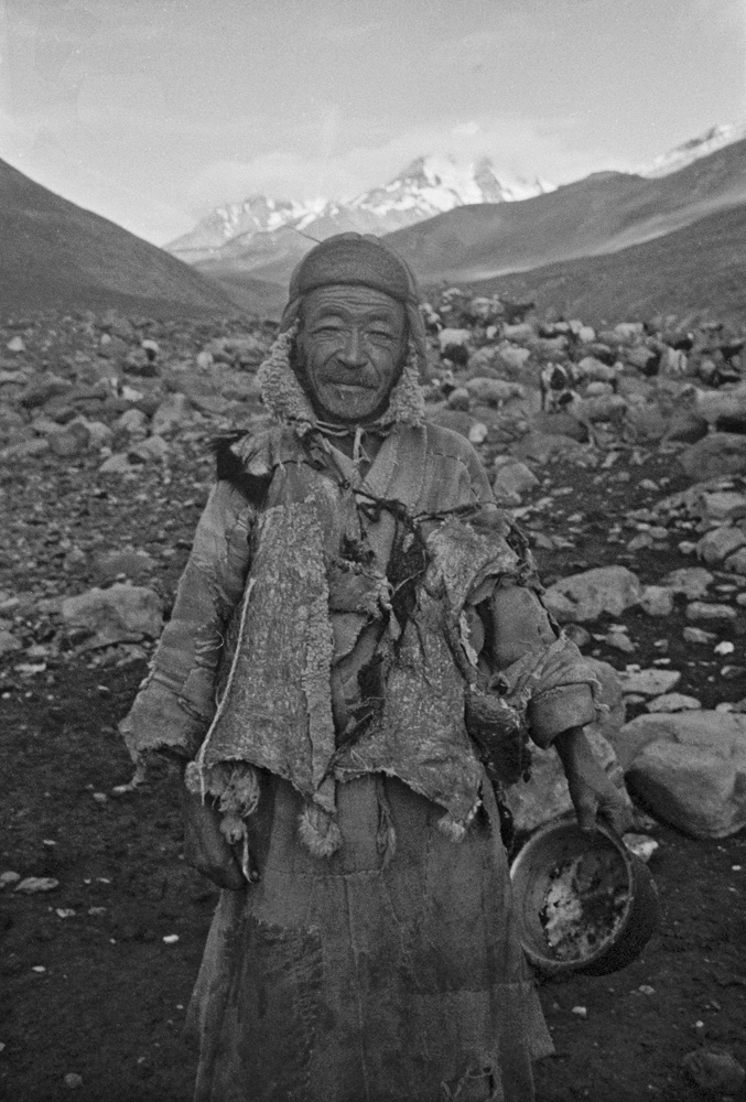 Yak Herder and gracious host, Spantung, Ladakh 1978 - Tim Trompeter